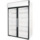 DM110 - Dvojdverová vitrínová chladnička
