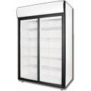 DM110SD - Dvojdverová vitrínová chladnička