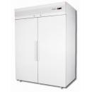 CM114 - Chladnička s plnými dverami - biela