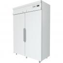CM110 - Chladnička s plnými dverami - biela