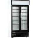 USS 1000 DIKLM - Glass door cooler with double doors