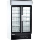 USS 1200 DIKLM - Glass door cooler with double doors