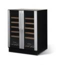 W 38 - Wine cooler with double doors