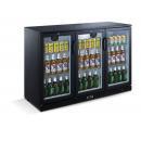 LG-330H - Barová chladnička s tromi sklenenými dverami