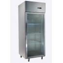 GNC740L1G INOX Vitrínová nerezová chladnička