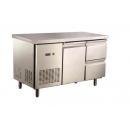 GNTC700 L1 D2 | Chladený pracovný stôl s 1 dverami a 2 zásuvkami