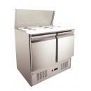 GNTC-S900 - Šalátový chladič so sklápacím vekom