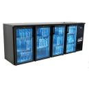 DCL-2222GMU - Bar cooler 4 doors