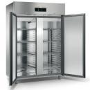 ME150T - Dvojdverová nerezová chladnička