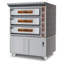UMF 3000 - Trojdverová pec na pizzu
