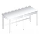 RM 600 - Nerezový pracovný stôl 600 mm