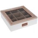 Box na čaje 24x24x7 cm