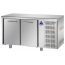 TF02EKOGN - Dvojdverový chladený pracovný stôl GN1/1