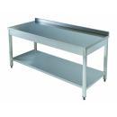 TA610D Nerezový pracovný stôl