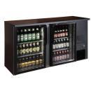 TC-BB-2GD barová chladnička s dvomi sklenenými dverami