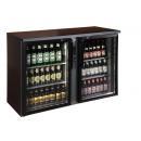 TC-BB-2GDR barová chladnička s dvomi sklenenými dverami