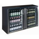 TC-BB-2GDRI INOX nerezová barová chladnička s dvomi sklenenými dverami