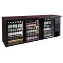 TC-BB-3GD barová chladnička s tromi sklenenými dverami
