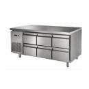 GNTC700 D6 | Pracovný stôl so 6 zásuvkami