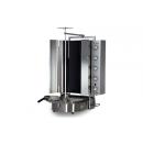 PDG 500 plynový gril na gyros ROBAX sklený