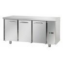 TF03EKOSG - Trojdverový chladený pracovný stôl GN 1/1 s externým agregátom