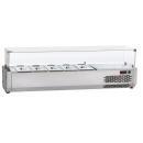 VR3200VD - Šalátový chladič 8x GN 1/3