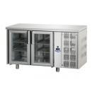 TF02MIDPV | Chladený pracovný stôl s presklenými dverami GN 1/1