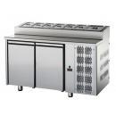 TF02MIDGNSK | Chladený pracovný stôl GN 1/1 so šalátovým chladičom