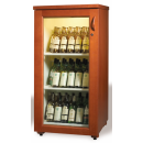 HARMONY II. - Rustical wine cooler (walnut or mahogany)