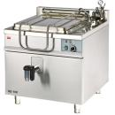KE-100 - Electric boiling pan with square cooking tank