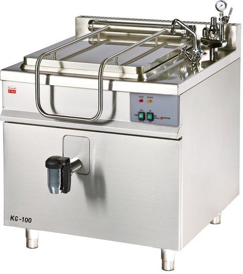 KG-100 - Plynový varný kotol s hranatým duplikátorom