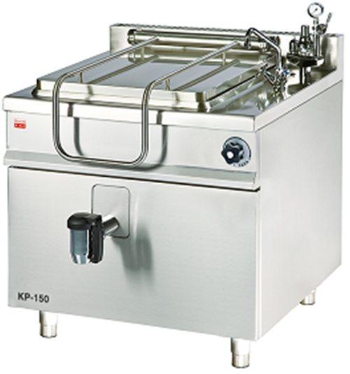 KP-100 - Parný varný kotol s hranatým duplikátorom