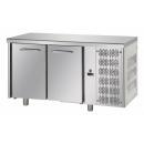 TF02MIDGN | Dvojdverový chladený pracovný stôl GN 1/1