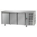 TF03MIDGN | Trojdverový chladený pracovný stôl GN 1/1
