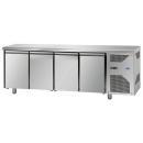 TF04MIDGN | Štvordverový chladený pracovný stôl GN 1/1
