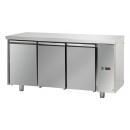 TF03MIDSG | Trojdverový chladený pracovný stôl GN 1/1
