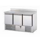 SL03AL | Chladený pracovný stôl so zadným okrajom GN 1/1