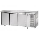 TF03EKOGN | Chladený pracovný stôl s jednými dverami GN 1/1 a 4x GN 1/2 zásuvkami