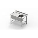 700x700x850 | Nerezový umývací stôl