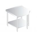 DM-P-3105 Nerezový pracovný stôl 600mm