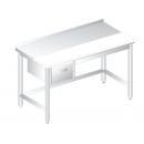 3106 - Nerezový pracovný stôl 600 mm