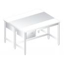 DM-P-3107 Nerezový pracovný stôl 1200mm