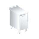 3141 - Nerezový pracovný stôl 600 mm