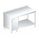 3113 - Nerezový pracovný stôl 700 mm