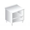 RM B 700 - Nerezový pracovný stôl 700 mm