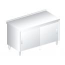 3118 - Nerezový pracovný stôl 600 mm