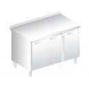 3125 - Nerezový pracovný stôl 600 mm