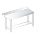 3248 - Nerezový pracovný stôl 760 mm