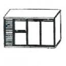 SL | Chladiaci stôl s 2 zásuvkami a 2 dverami