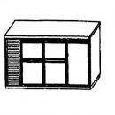 SL | Chladiaci stôl so 4 zásuvkami a 1 dverami